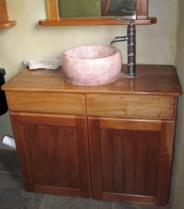 Sustainable hardwood product, cabinets