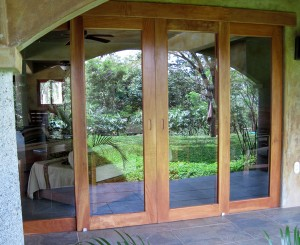 Sustainable hardwood products, custom doors and windows