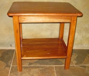 Sustainable custom hardwood table