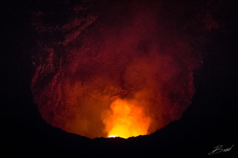 Volcan Mombacho at Night