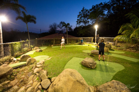 Night Mini Golf at Finca Las Nubes