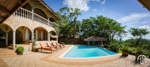 Villa Hermosa Pool, San Juan Vacation Rental at Finca Las Nubes