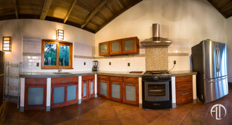 Kitchen at Casa Buena Vista Vacation Rental Villa in San Juan Del Sur