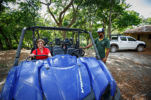 Off road activity from Casa Buenavida Vacation Rental in San Juan Del Sur