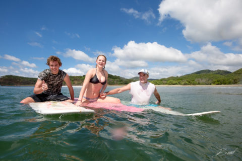 Family Surf Trip from Finca Las Nubes