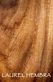 Organic and sustainable hardwood products from Laurel Hembra tree