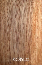 Organic and sustainable hardwood products from Roble tree