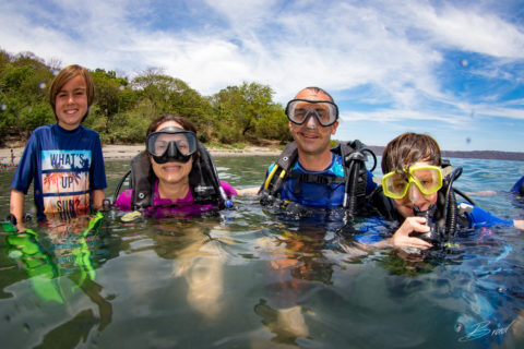 Family Scuba Dive Lesson at Laguna De Apoyo
