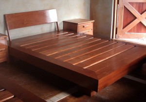 Sutainable hardwood furniture, beds and couches